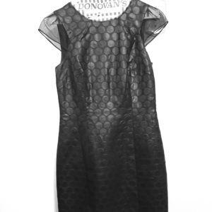 Antonio Melani black cocktail dress